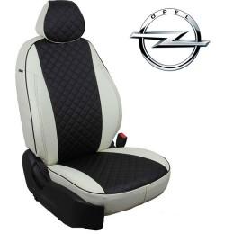 Авточехлы для Opel - Экокожа Ромб
