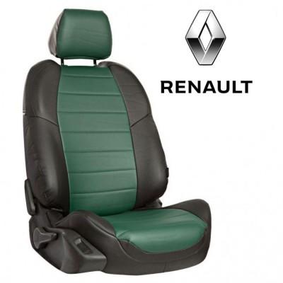 Чехлы на сиденья из экокожи для Renault