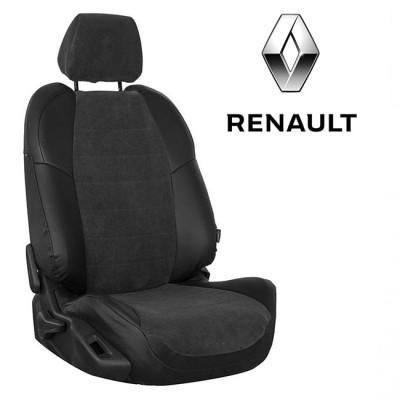 Чехлы на сиденья из велюра для Renault