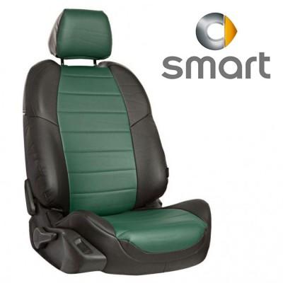 Чехлы на сиденья из экокожи для Smart