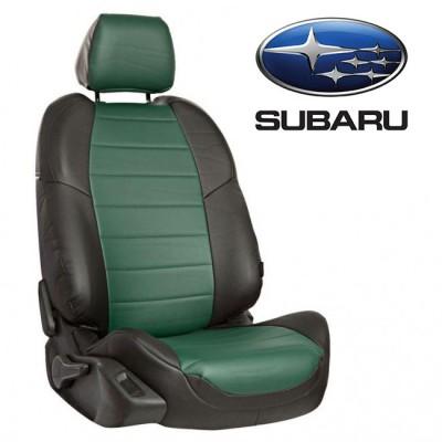Чехлы на сиденья из экокожи для Subaru