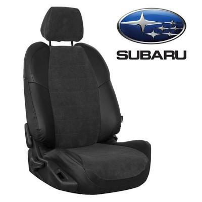Чехлы на сиденья из велюра для Subaru