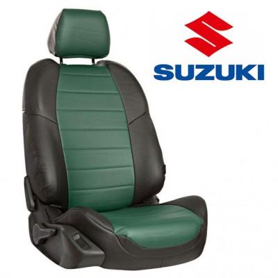 Чехлы на сиденья из экокожи для Suzuki