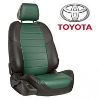 Авточехлы для Toyota - Экокожа