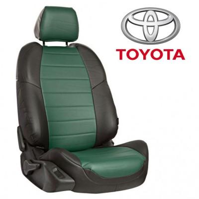 Чехлы на сиденья из экокожи для Toyota