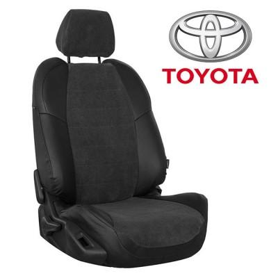 Чехлы на сиденья из велюра для Toyota