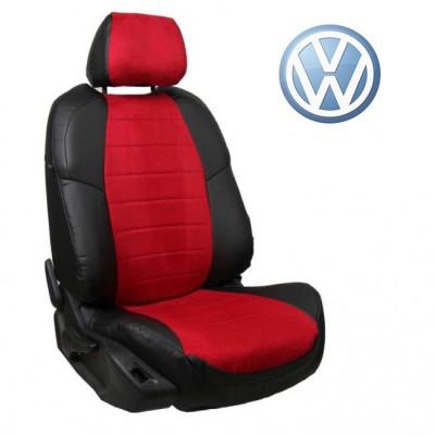 Чехлы на сиденья из алькантары для Volkswagen