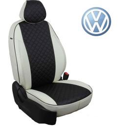 Авточехлы для Volkswagen - Экокожа Ромб