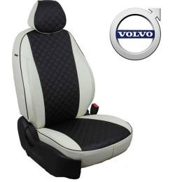 Авточехлы для Volvo - Экокожа Ромб