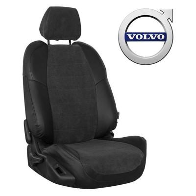 Чехлы на сиденья из велюра для Volvo